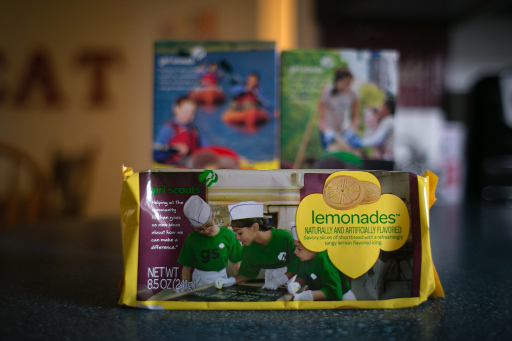 60/365 Lemonades, Thin Mints & Peanut Butter Patties, Oh My!