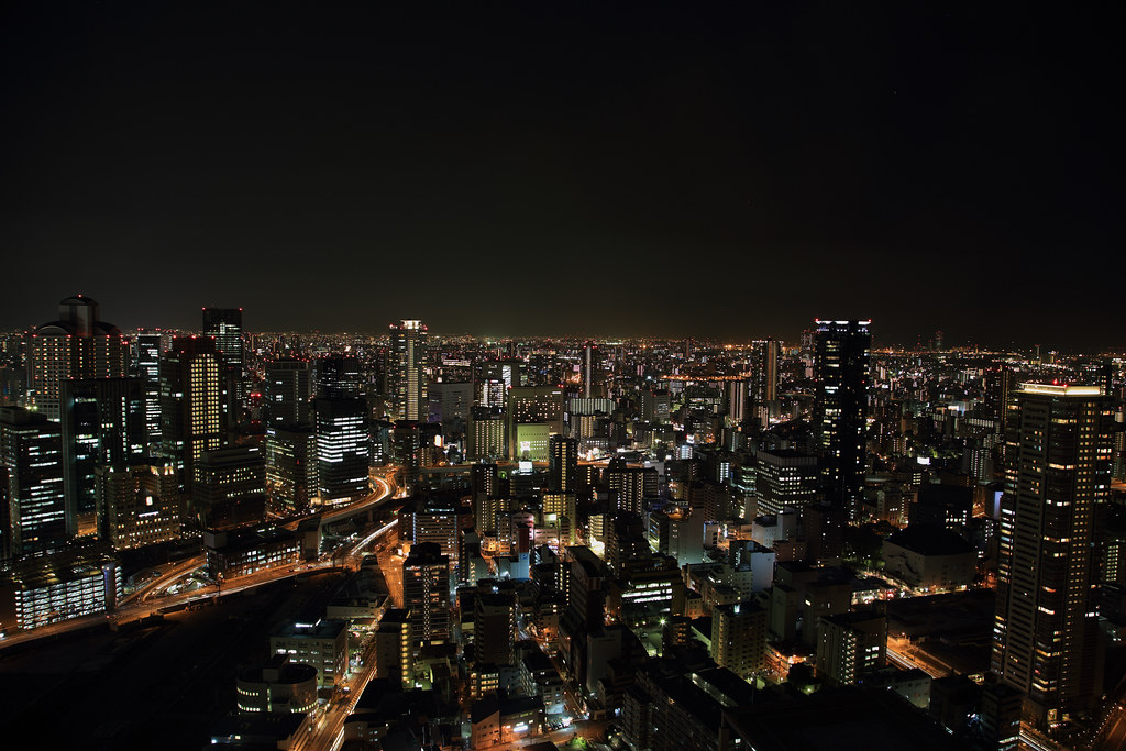 Osaka in Night