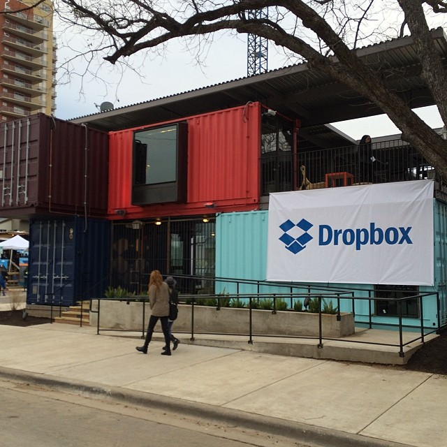 cool #dropbix Container #sxsw