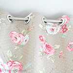 No sew oilcloth curtains