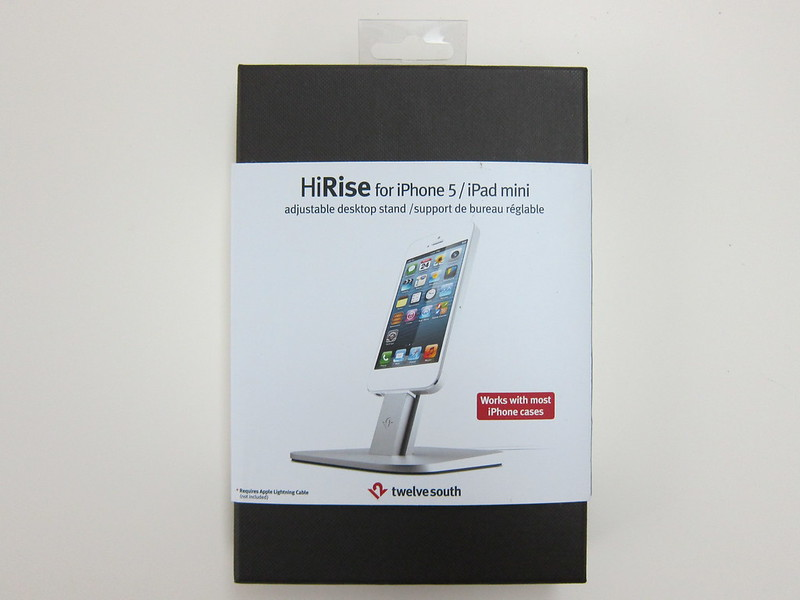 Twelve South HiRise for iPhone 5 & iPad Mini - Box Front