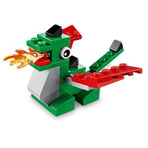 LEGO Shop Dragon Mini Model