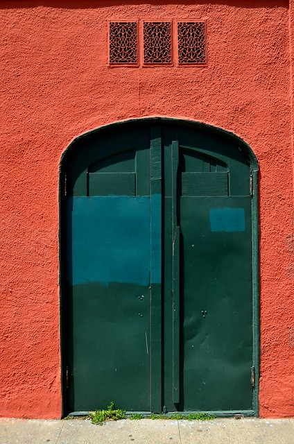 Behind The Green Door Definition Meaning