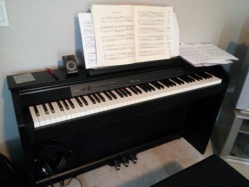 I has a piano!