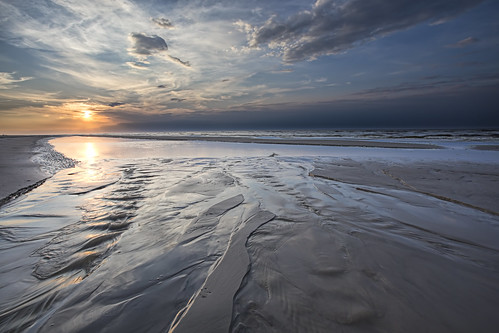 sunset sea sky beach water denmark estuary 1740mm 6d landoflight canoneos6d hlandersen uggerbyå