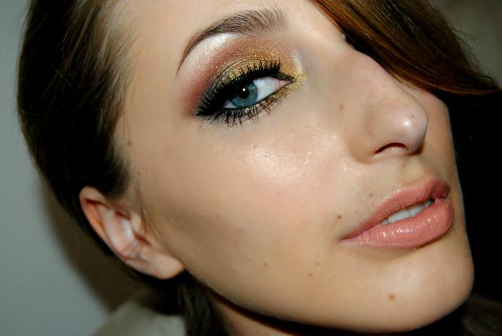 Gold Makeup (5)