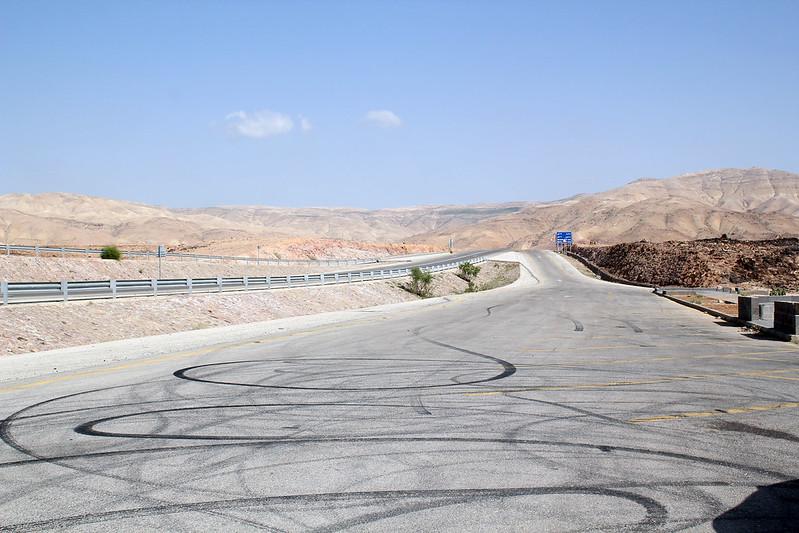 Route de Jordanie