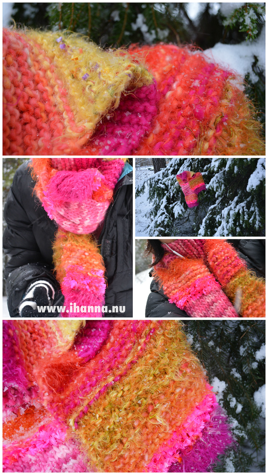 Crazy iHanna Scarf Collage