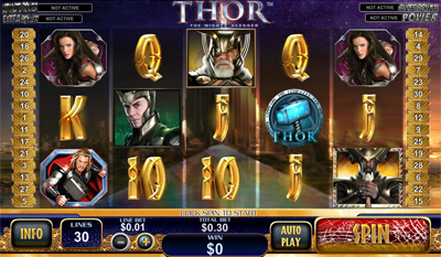 Thor The Mighty Avenger slot game online review