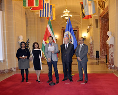 2015 JAN 30 Change of Chair of the Inter-American Council for Integral Development (CIDI)