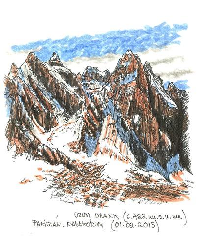 Uzum Brakk (6.422 m.s.n.m.)