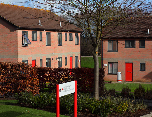 Carroll Court accommodation, Frenchay campus, UWE Bristol