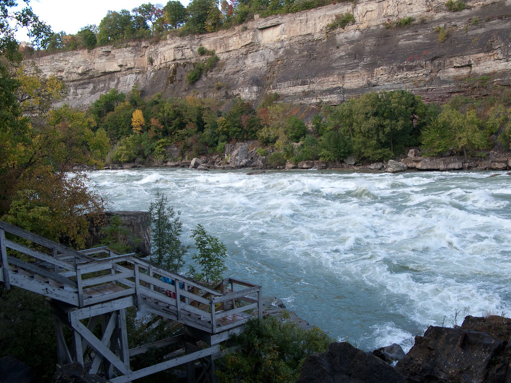 White Water walk in Niagara Falls