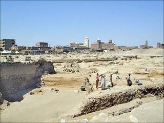 Le chantier de fouilles archéologiques d'El Fustat (Le Caire, Egypte)