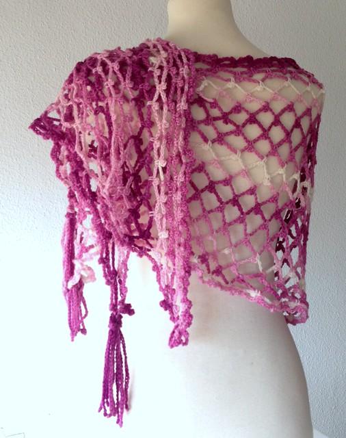 pink scarf sakura