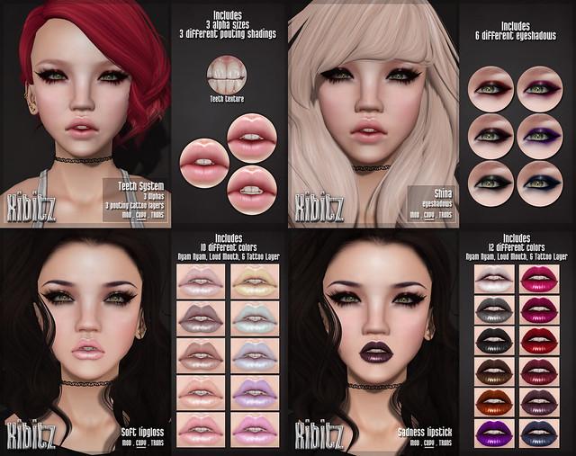 kibitz cosmetic ads