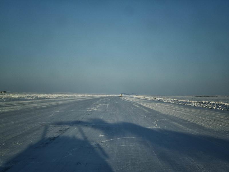 Ice Road Selfie