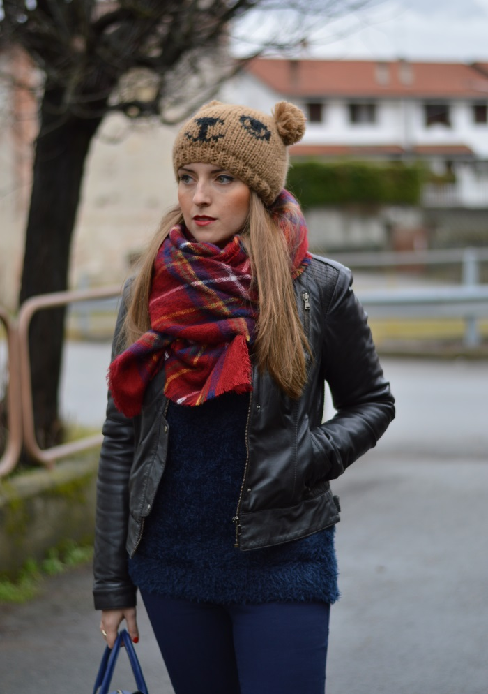 beanie orsacchiotto, Benetton, Tally Weijl, Conbipel, Zara, wildflower girl, fashion blog (5)