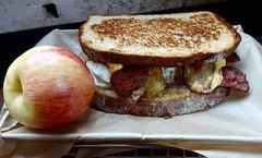 Farmer's Breakfast sandwich American Grilled…