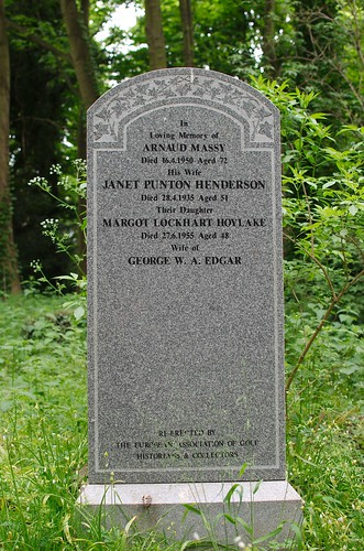 Grave of Arnaud Massy