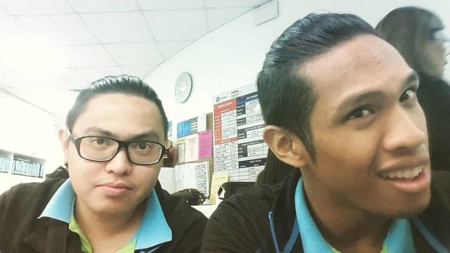 Twinning! #hairstyle