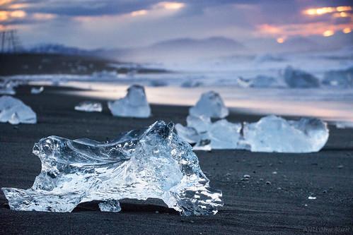 morning ice beach sunrise iceland spring sand bokeh grain may iceberg oru jökulsárlón 2016 thestranglers
