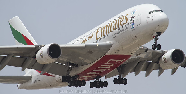 AIRBUS A380-800 (A6-EED) EMIRATES AIRLINES | DUBAI | DXB-OMDB