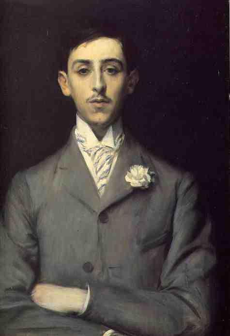Maurice Barrès by Jacques-Émile Blanche, 1903