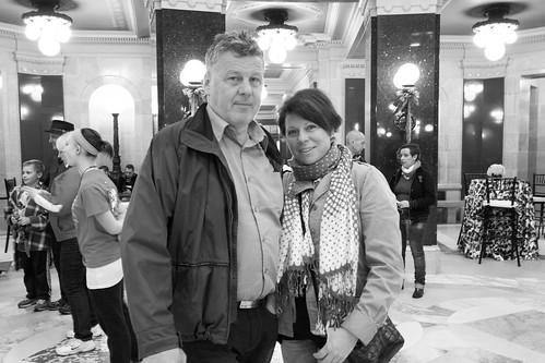 Mamma och pappa på besök
