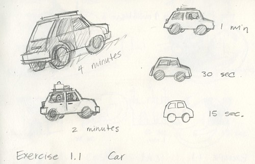 Exercise 1.1 Car by Bricoleur's Daughter