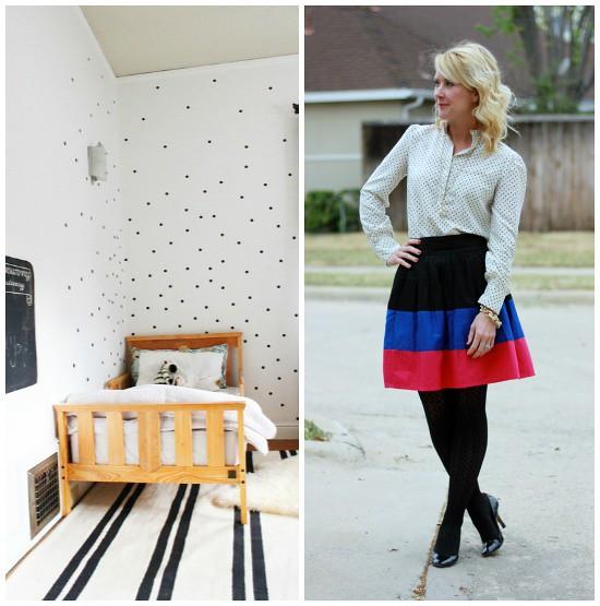 Hi Sugarplum | Outfit Inspiration: Spots & Stripes