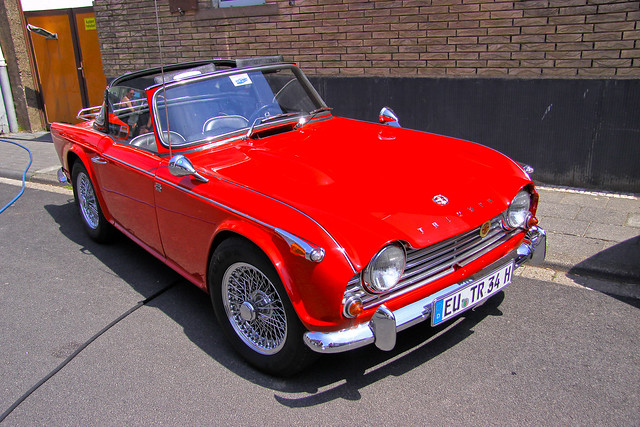 triumph tr4 a irs 1170 flickr photo sharing. Black Bedroom Furniture Sets. Home Design Ideas
