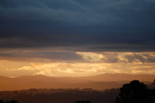 sunset storm nature clouds landscape countryside scenery day australia nsw cloudscape northernrivers sunlightthroughclouds