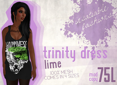[IF] Trinity Dress - [Lime] Ad
