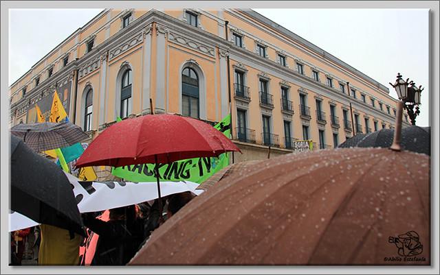 3 Manifestación contra el fracking en Burgos