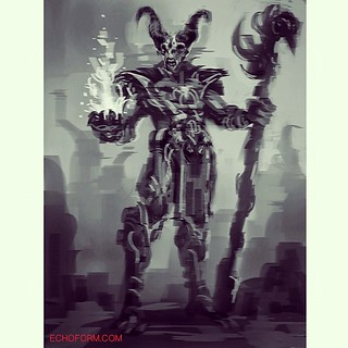 #demon #speedpainting #sketchbookpro #ipad