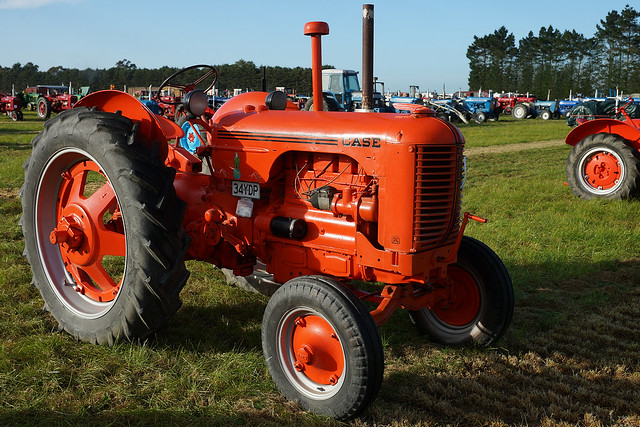 1947 Case Tractor : Case dc tractor flickr photo sharing