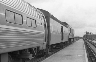 Amtrak Palmetto at Florence SC, 1977