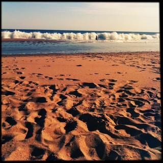 Image of Playa La Bonita Sandy beach. beach uruguay playa maldonado piriápolis sinflash hipstamatic lentefoxy películasugar