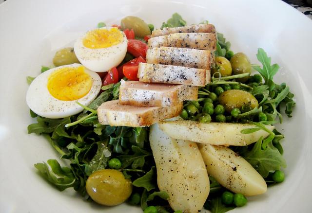 Grilled Albacore Tuna Nicoise