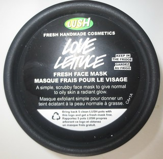 Lush Love Lettuce Fresh Face Mask