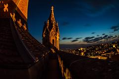 Lausanne depuis la tour du guet