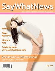 Nicole Munoz July Interview