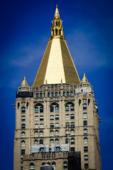 Tower of New York Life Building, Manhattan, Flatiron by Jeffrey, on Flickr