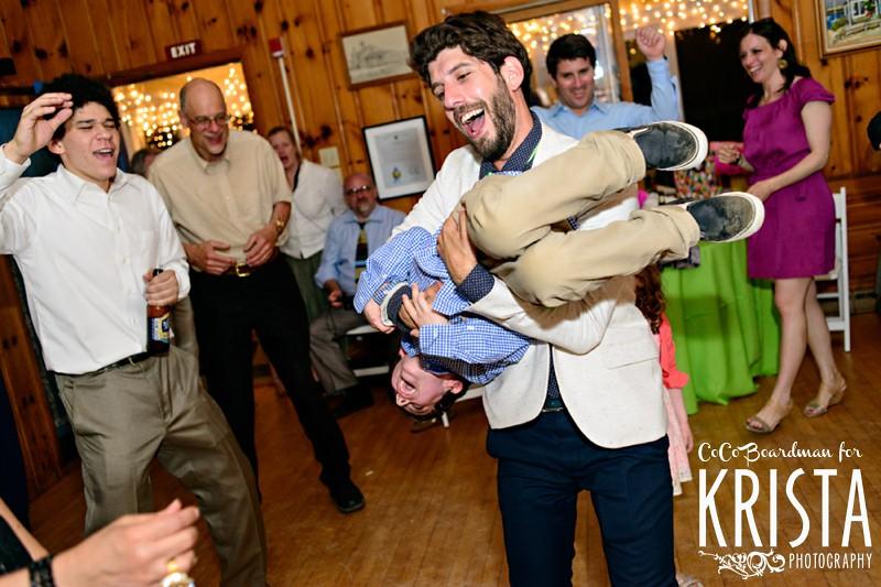 DIY, artistic and eccentric wedding in Truro, MA Cape Cod