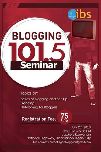 Blogging iligan