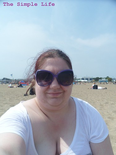 Me on Skeggy Beach