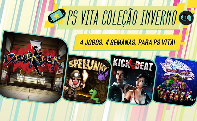 Coleção de Inverno PS Vita