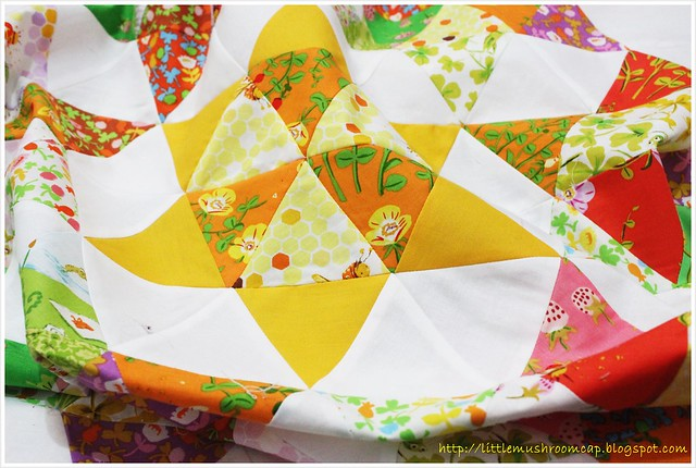 Briar Rose Quilt_littlemushroomcap_star