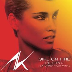 Alicia Keys – Girl On Fire (Inferno Version) (feat. Nicki Minaj)